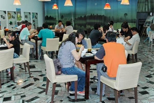 穀倉餐廳-胡麻特色料理
